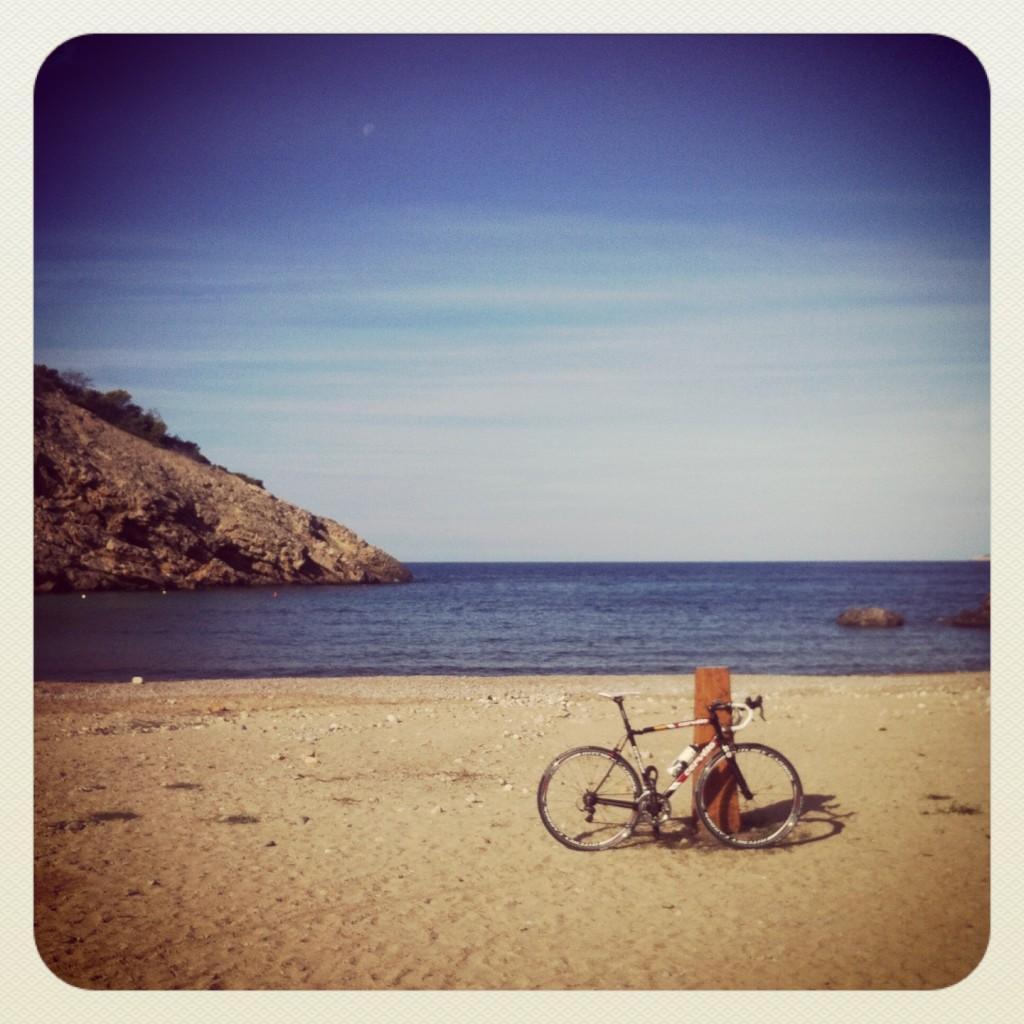 Deserted, beautiful Cala Moli