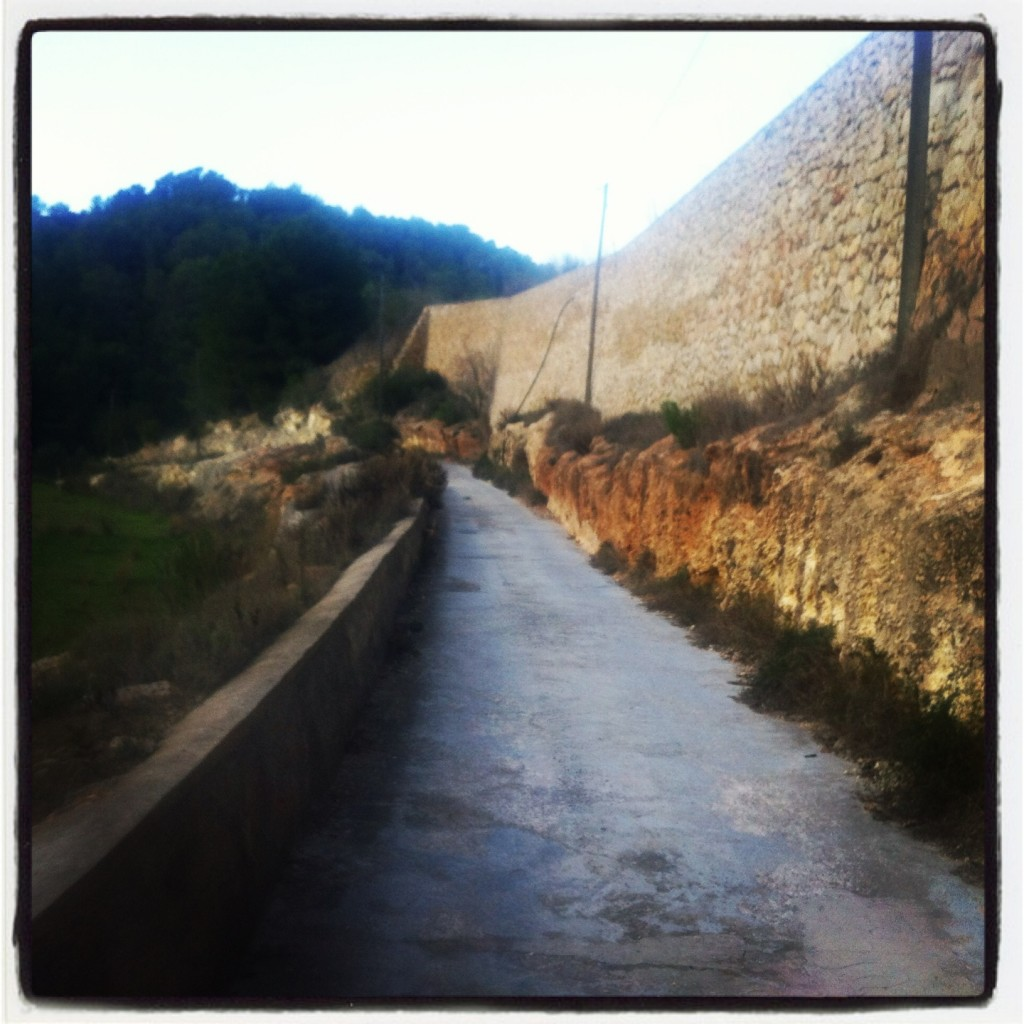 Concrete lanes escaping from the camino crazyness