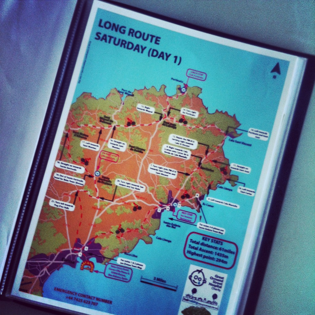 For the uninitiated the routes were definitely a challenge