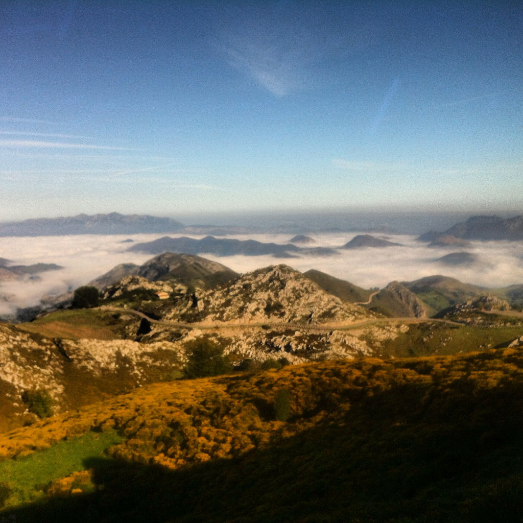 Above the Clouds at Lagos de Covadonga