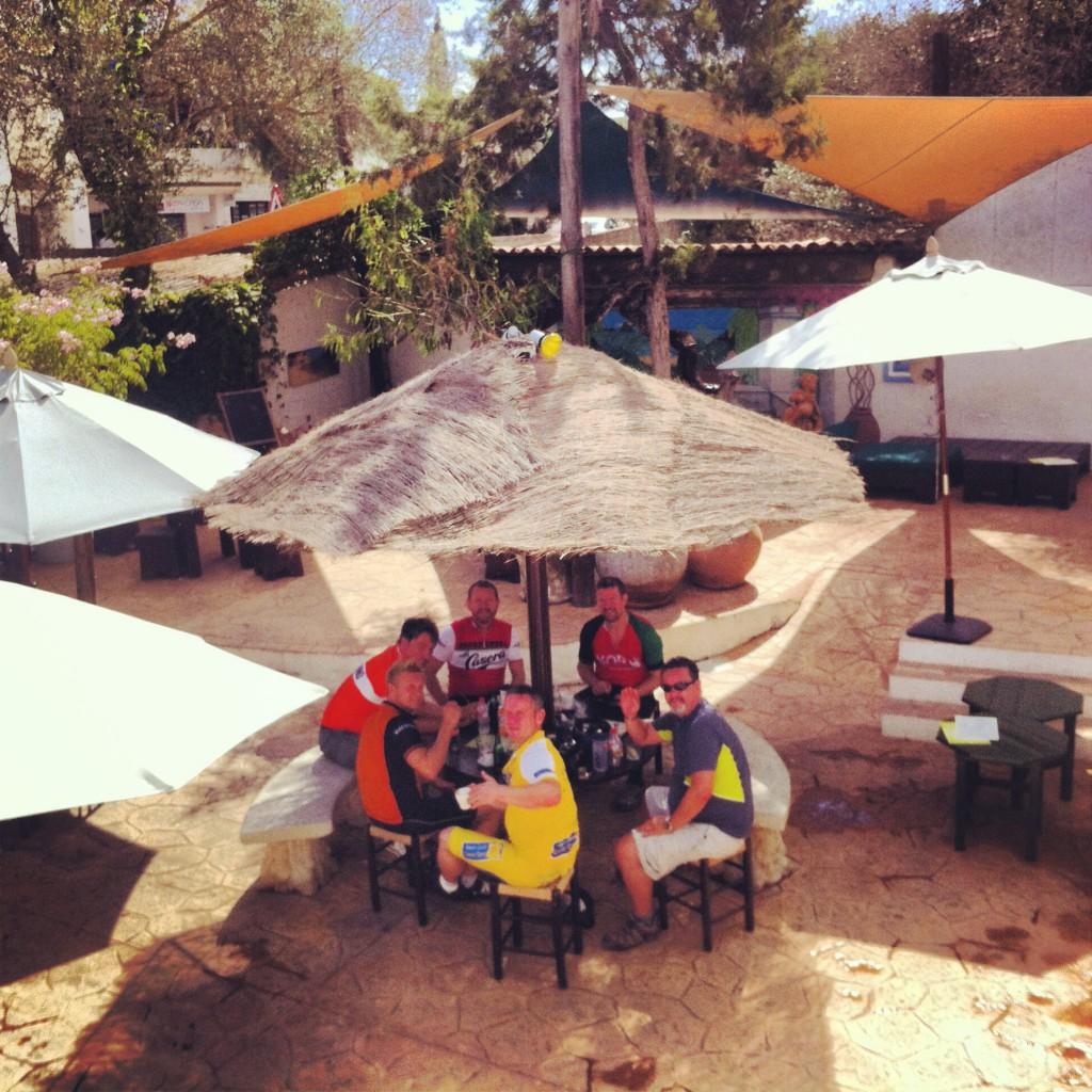 Refreshments at Raco Verde, San Jose