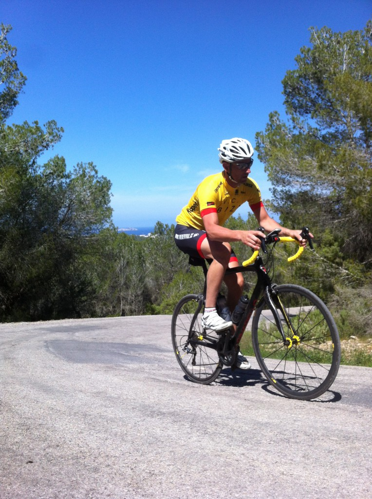 James is training for a charity race from St Tropez to Monaco! Such is life!